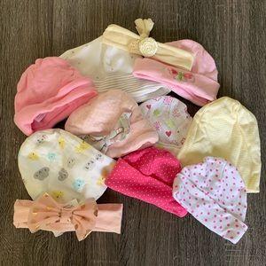 Baby Girl Hat Bundle